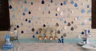 Baby shower rain drops ...