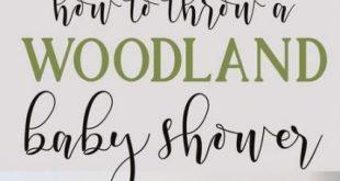 Baby Shower Boy Woodland Theme Tree Stumps 34+ Ideas For 2019