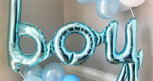25 + › Es ist ein Junge! Unsere neuen Babyduschenballonreifen! Platz auf dem Kuchentisch, weiter …