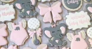 51+ Ideas Baby Shower Food For Boy Elephant Sugar Cookies For 2019