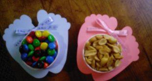 Ähnliche Artikel wie Baby Shower Table Favor/ Baby Feet Nut and Candy Cup auf E...