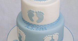 Baby Shower Cake Christening cake with train inspired by The Designer Cake Compa...