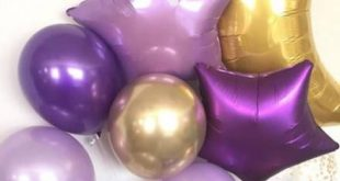 Baby Shower Ideas For Girs Themes Purple Balloons 52+ Ideas