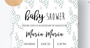 Cactus Baby Shower Invitation, Agua Gender Neutral Baby Shower Ideas, Printable Invitations Instant Download