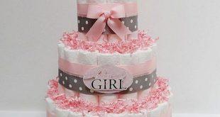 Custom Diaper Cake ~ Diaper Cakes, Baby Shower Gift, Baby Boy diaper cake, Princess Girl Pink diaper cake, Baby shower gift, Hospital gift