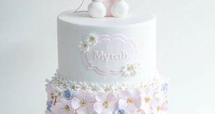 Geschenk Geburt - Süße Miffy-Torte - Kindergeburtstagskuchen - #Geburtstag # ....