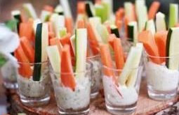 Trendy Baby Shower Party Food Veggie Cups Ideas