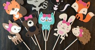 Woodland baby shower decorations boy girl, girl boy woodland baby shower animals animal decorations,